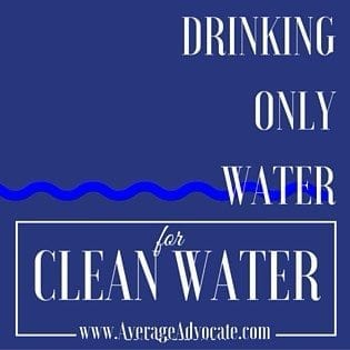 Ask your friends to join you on this advocacy project for clean water!