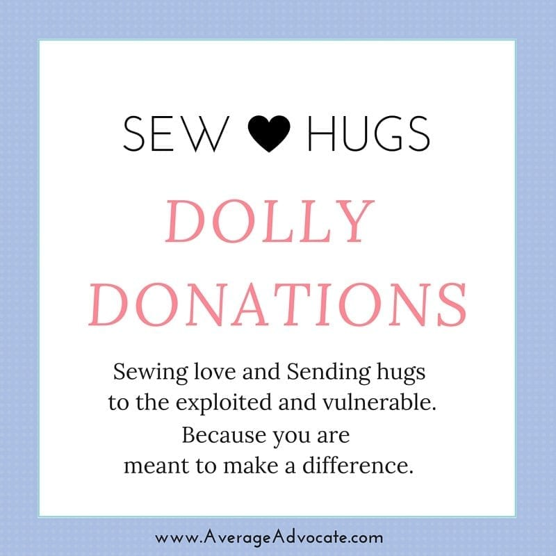 Know someone who might want to sew dolls for Dolly Donations? Share this!