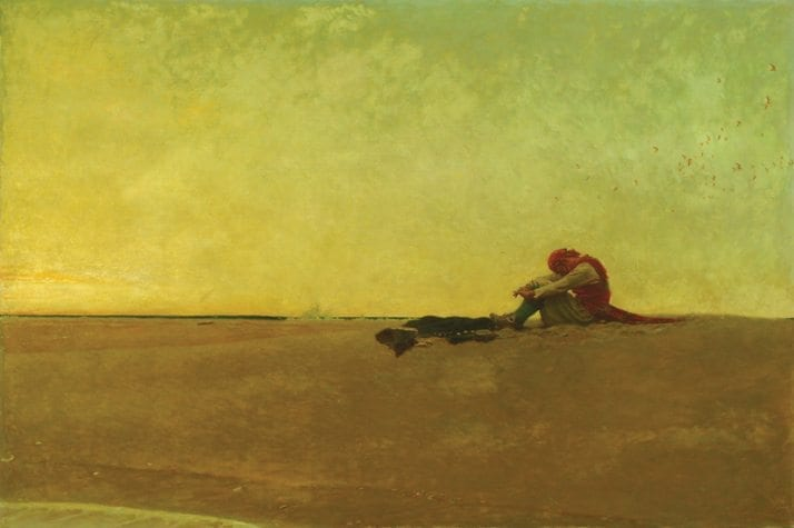 Marooned, by Howard Pyle, 1909. Public Domain.
