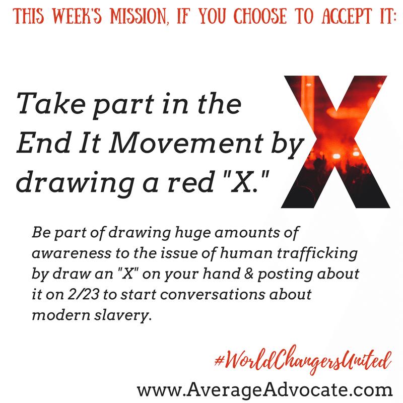 #EndIt #EndItMovement to stop modern slavery