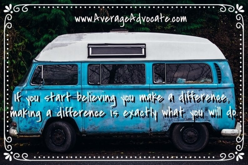 Making A Difference www.AverageAdvocate.com