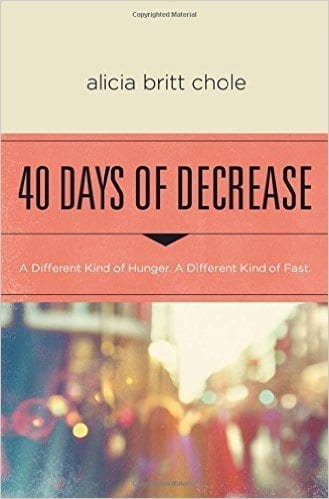 40 Days of Decrease Fasting