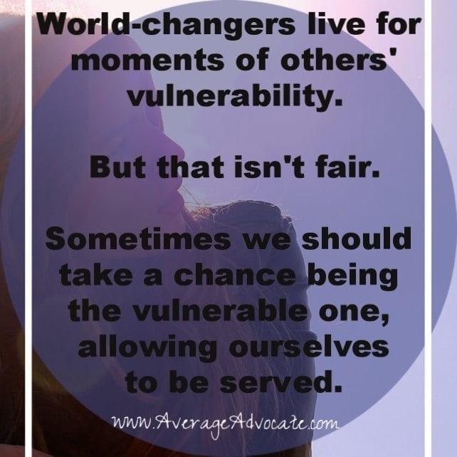 World-Changers Vulnerability. www.AverageAdvocate.com