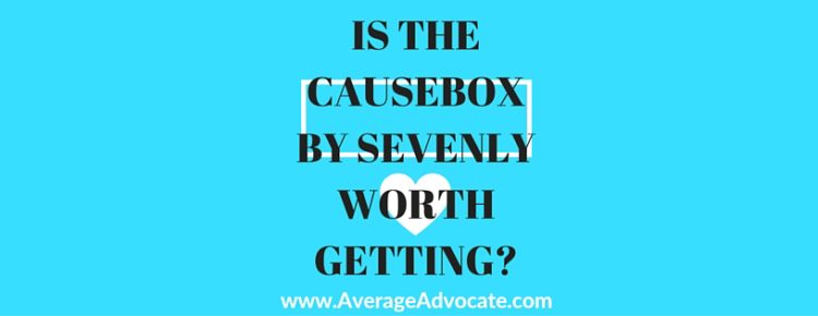 IS THE CAUSEBOX BY SEVENLY WORTH GETTING