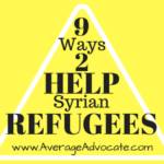 9 Ways To Help Syrian Refugees
