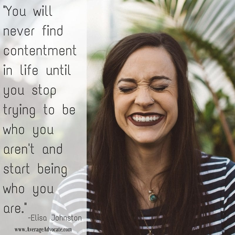 You will never find contentment until you discover who you are