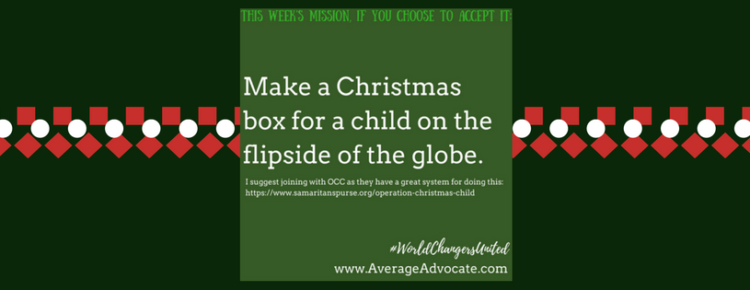 Should We Participate In Operation Christmas Child?