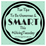 10 Tips To Be a Generous and Smart Donor on Giving Tuesday
