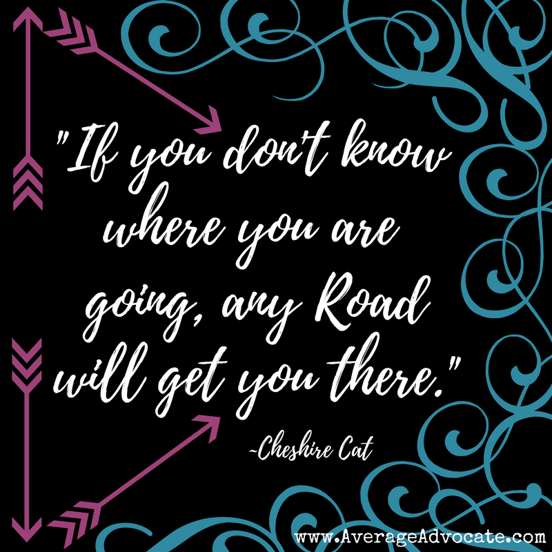 cheshire cat where are you going quote Life MApping