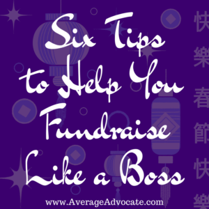 Six tips to help you fundraise