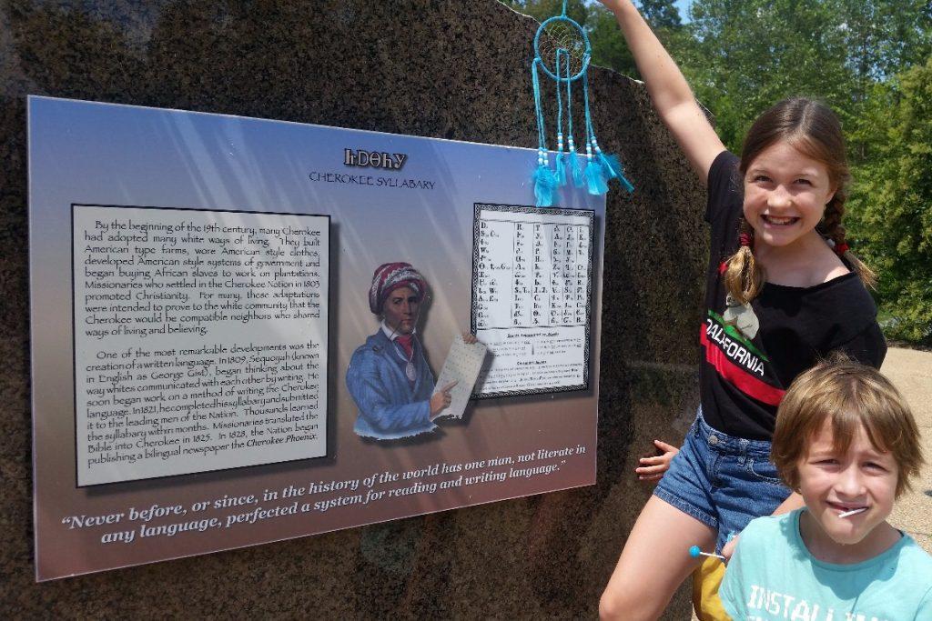 A Cherokee Native American Alphabet