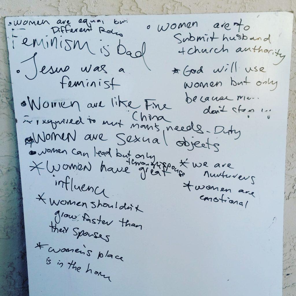 Messages women hear in church