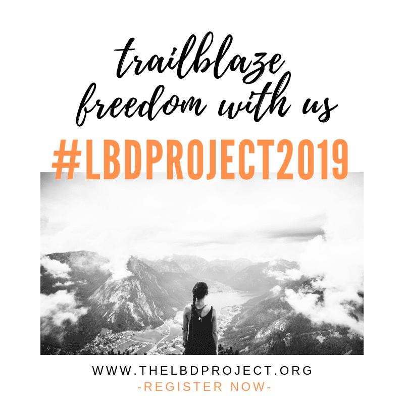 trailblaze freedom with us LBD.Project 2019 human trafficking